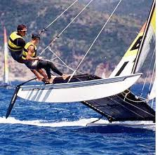 hobie cat sailboat