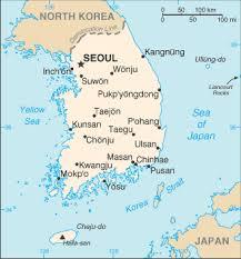korea seoul map