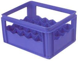 milk bottle crate