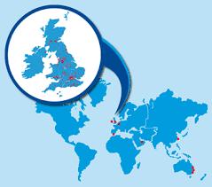 ireland world map