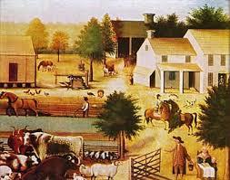 colonial farm life