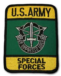 army special forces patch