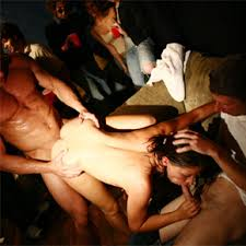 Drunk Orgy Sex Party