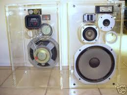 plexiglass speaker enclosures
