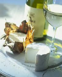 cheese with wine