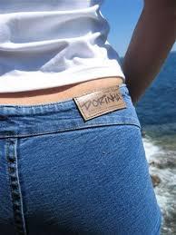super low waist jeans