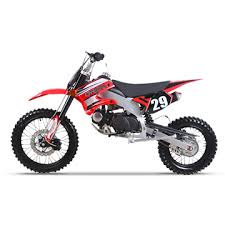 red dirtbike
