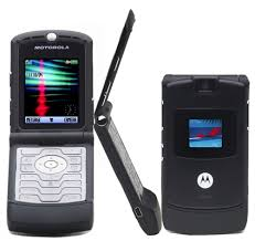 black razor cell phones