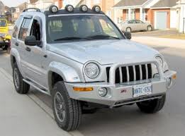 jeep liberty front bumper
