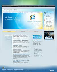 internet explorer design