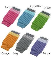 cell phone socks