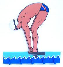 swimming male