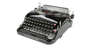 remington 5 typewriter