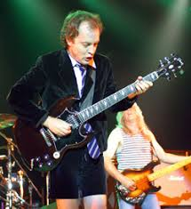 angus young signature guitar