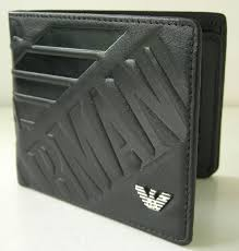 armani mens wallets