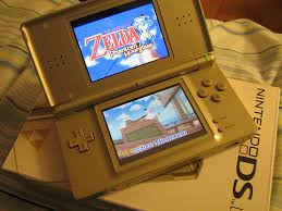gold nintendo ds lite
