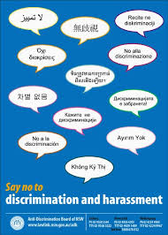 discrimination poster