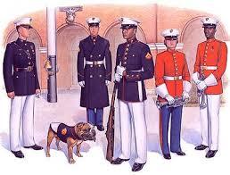 marine corps dress whites