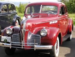 pontiac 1940