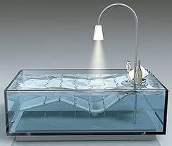 bath tub water