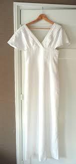 flutter sleeve wedding dress