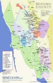 sonoma winery maps