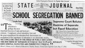 brown vs board of education pictures