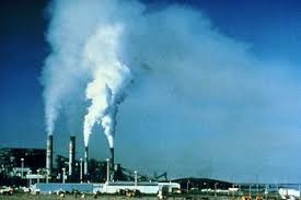 contamination of the air