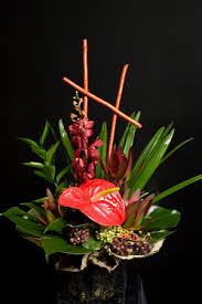 asian flower arrangements