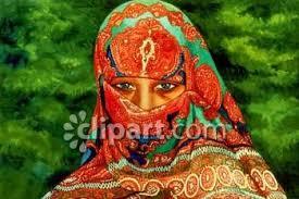 indian headscarf