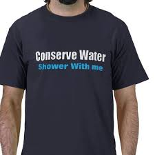 conserve water shower with me
