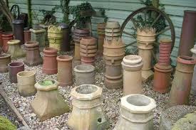 old chimney pots