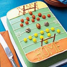 superbowl cake ideas