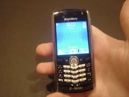 new blackberry pearl 8100