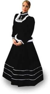 ladies victorian dress