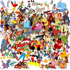 disney character collage