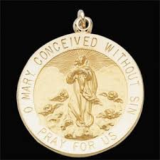 immaculate conception medal
