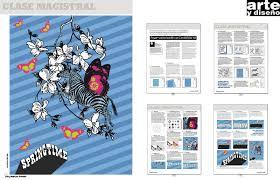 graphic art magazine