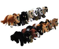 plush horses