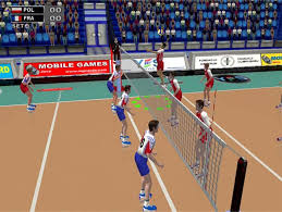 game volleyball