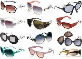 occhiali da sole 2009