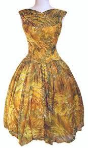 floral vintage dress
