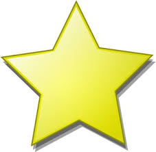 clipart of a star