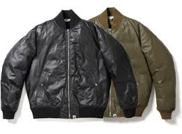 leather jackets bomber