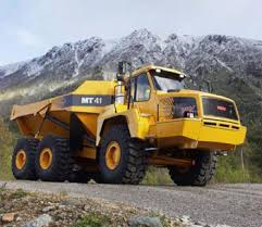articulated dumper