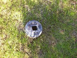 sewer clean out cap
