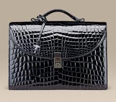 croc briefcase