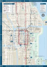 chicago maps downtown