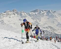 n 2008 Orietta Calliari sul Col Margherita Pizolada delle Dolomiti 2010, partenza e arrivo a Moena