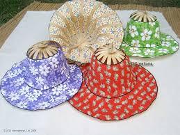 chinese bamboo hats